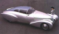 Dieselpunk: Hispano-Suiza H6C Dubonnet Xenia, 1938