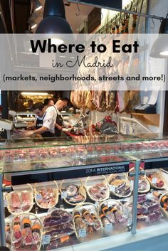 In Madrid, there's a restaurant on practically on every corner (sometimes two or…