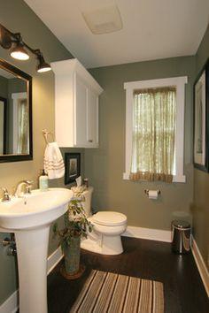Cape Cod Style Home - traditional - powder room - grand rapids - Koetje Builders Inc