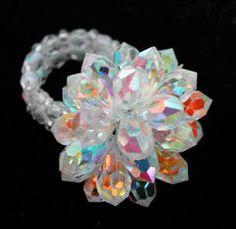 Bague gouttes, Bagues en perles, Schémas (gratuits) - NewPerle : vente de perles en ligne