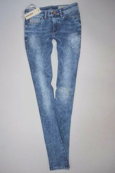 0fb85f18 NEW ladies DIESEL SKINZEE 0829F SKINNY leg Stretch JEANS women W26 L32 size  uk 8