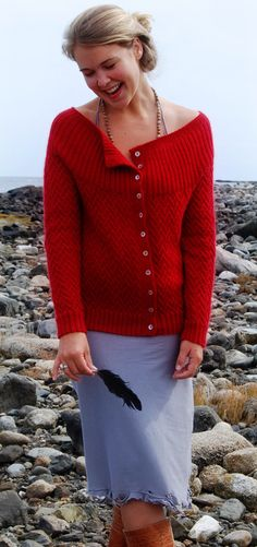 Free Knitting Pattern - Women's Cardigans: Vines Cardigan