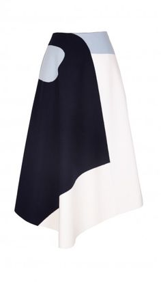 Siku Applique Draped Skirt