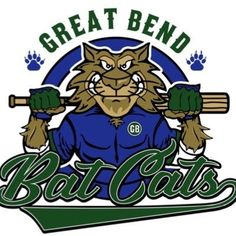 Minor League Baseball, Baseball Teams, Football, Great Bend Kansas, Fantasy Baseball, Sports Team Logos, Logo Inspiration, Logo Design, Burns