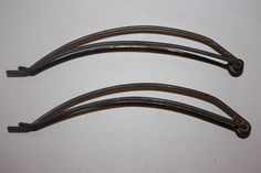 Antique Hair Clips Vintage Victorian Collectible Hair Styling Wave water waver