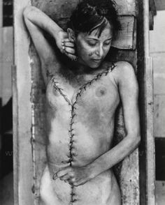 Enrique Metinides well known for documenting death and turbulent crime life in Mexico, this a young Mexican women after her autopsy.
