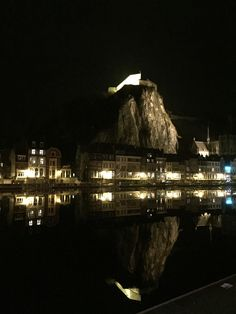 Dinant, Belgium,by night Belgium, Opera House, In This Moment, Night, Building, Photography, Travel, Photograph, Viajes