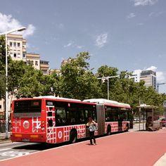 Bus in Barcelona