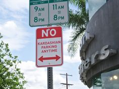 'No Kardashian Parking' Signs Have Been Put Up Around Hollywood http://www.people.com/article/no-kardashian-parking-plastic-jesus-art-installation-hollywood
