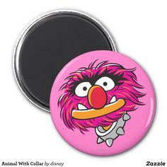 The muppets - Animal con el cuello imán redondo 5 cm, home decor, decoración. Regalos, Gifts. Producto disponible en tienda Zazzle. Product available in Zazzle store. Link to product: http://www.zazzle.com/animal_con_el_cuello_iman_redondo_5_cm-147576897085824516?lang=es&design.areas=[round_magnet_225_front]&CMPN=shareicon&social=true&rf=238167879144476949 #imán #magnet