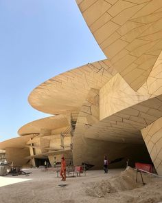 jean nouvel | National Museum of Qatar . doha