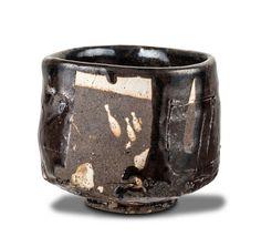 RYOJI KOIE (JAPANESE, BORN 1938) Tea Bowl 1998, ceramic, labelled K-53, 8 cm high, 10 cm diameter