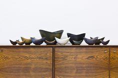 Swedish Bowls by Gunnar Nylund for Rörstrand, 1950s, Set of 12 1