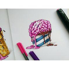 Как вам такое мороженое?) #art_nika