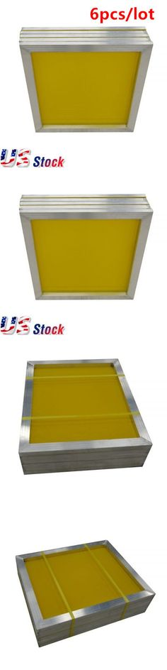 0a6561c73c8 Screen Printing Frames 183114  Usa! 6 Pcs -20 X 24 Aluminum Screen Printing
