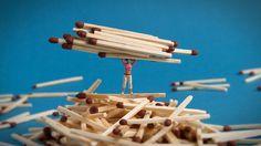 Matchsticks..