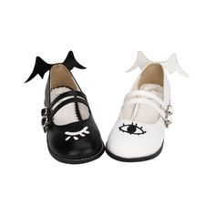 fba721e93 Harajuku 20demon 20mysterious 20eye 20flats 20lolita 20girly 20pu 20shoes  20mg528 original Kawaii Shoes, Lolita Shoes