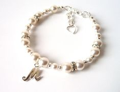 Children's pearl faux necklace - perfect for flower girls - includes gift bag ir5syI