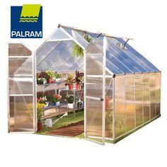 Palram Nature Series Essence Hobby Greenhouse - 8' x 12' Silver