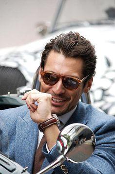Persol sunglasses TOP MODEL DAVID GANDI  Handsome * Sexy