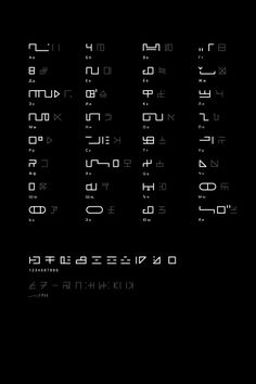 Showcase of the sci-fi fonts, digital lettering and high tech typography I do from time to time.