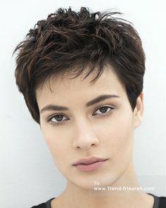 Franck Provost Kurze Braun weiblich Gerade Französisch Frauen Haarschnitt Frisuren hairstyles