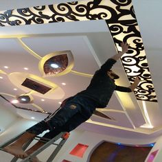 Pin on Ceiling design Pin on Ceiling design Gypsum Ceiling Design, House Ceiling Design, Ceiling Design Living Room, Bedroom False Ceiling Design, Home Ceiling, Living Room Designs, Pop Design, Plafond Design, False Ceiling Living Room