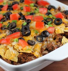 Mexican Casserole - Casseroles just never seem to get old to me. There are so many different things you can turn into a casserole.