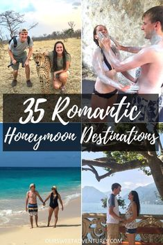 Perfect Honeymoon Destinations from Around the World for Travel Couples, TRAVEL, Looking for a romantic honeymoon destination? Look no further, we have 35 perfect honeymoon destinations that you are bound to fall in love with. Romantic Honeymoon Destinations, Honeymoon Night, Honeymoon Tips, All Inclusive Honeymoon, Honeymoon Places, Romantic Getaways, Amazing Destinations, Romantic Travel, Travel Destinations