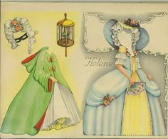 Romance Paper Dolls