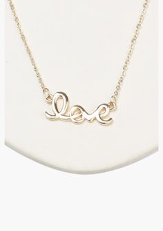 Love Necklace.