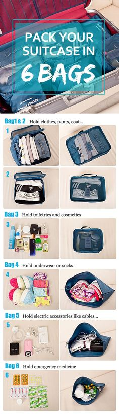 Packing tips for you! Click to buy this pin product❤