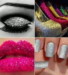 glittery stuff | Pinned by Erin Brown
