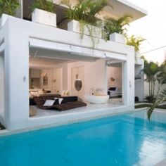 Take a tour through this fun and uniquely designed home in Bali.