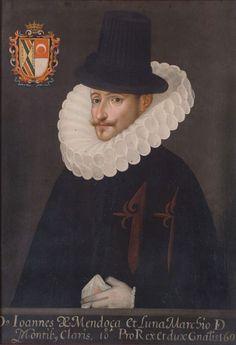 Don Juan de Mendoza y Luna, virrey de la Nueva España. III marqués de Montesclaros.