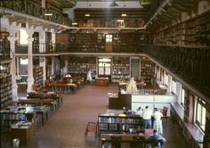 231990PD: State Reference Library of Western Australia in Hackett Hall, Perth, February 1960  https://encore.slwa.wa.gov.au/iii/encore/record/C__Rb3430776