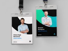 Id card designed by Paola Bautista. Connect with them on Dribbble; Name Tag Design, Id Card Design, Id Design, Badge Design, Business Card Design, Identity Card Design, Graphic Design Brochure, Sports Graphic Design, Branding Design