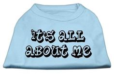 It's All About Me Screen Print Shirts Baby Blue Lg (14)