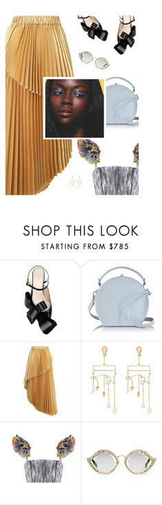 """""""Untitled #397"""" by duciaxoxo ❤ liked on Polyvore featuring Delpozo, Bertoni, Zimmermann, Aurélie Bidermann, Gucci, colorful, Trendy, pastel and pleats"""