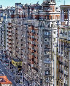 Madrid. Gran Vía. España.