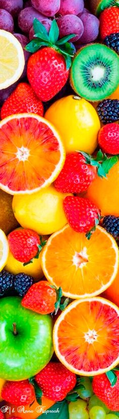 Rainbow Fruit, Fruit Ice, Fresh Fruit, Fruit Salad, Crazy Colour, Color Of Life, Color Explosion, Fruit Picking, Light Therapy