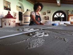 Handmade italian style ceramic stoves