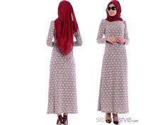 Sefamerve'den Tesettür Triko Elbise... 2347-03 #sefamerve #tesetturgiyim #tesettur #hijab #tesettür