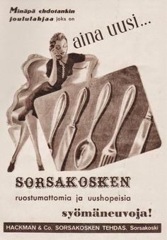 Old Advertisements, Advertising, Vintage Ads, Vintage Posters, Old Ads, Historian, Old Pictures, Ancient History, Finland
