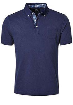 OTTO KERN Polo-Shirt mit dezenter Brusttasche
