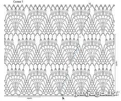 O Esquema Saia de Crochê 2 / Юбка вязаная крючком схема 2 / The skirt crochet scheme 2