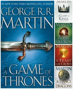 """""""A Game of Thrones,"""" the first book in a series of high fantasy novels by George R. R. Martin, was published on this day in 1996. What's your favorite book in the epic """"A Song of Ice and Fire"""" series? http://on.nypl.org/11IRqr5"""