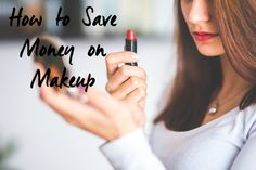 Here are some ways I've found to save money on cosmetics, so that you're not pinching every penny just for a swipe of lipgloss:
