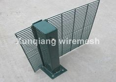 358 wire mesh fence Materials: Low carbon steel wires Mesh Size:1/2''x3''(12.7*76.2mm) • Wire dia:3.0,3.5,4.0mm • Width:2000,2200,2500mm • Height:1000-3000mm http://www.xq-wiremesh.com/358-Fence-1177.html
