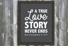 Personalized Marriage and Anniversary Quote - Wall Art - Customizable- Anniversary Gift- Love Quote